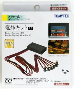 Tomytec LED Lighting Kit A3 for Structures (Yellow Light) (N scale)