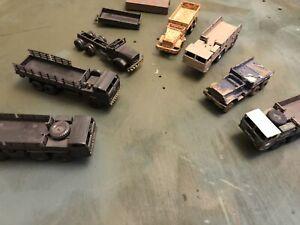 roco minitanks 1/87 Modern Trucks Large Lot
