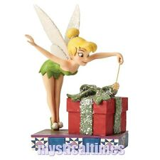 NEW * PIXIE PRESENT * TINKER BELL 4051970 JIM SHORE DISNEY FIGURINE ORNAMENT