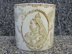 Queen Victoria Diamond Jubilee 1837 - 1897 Commemorative Pottery Mug