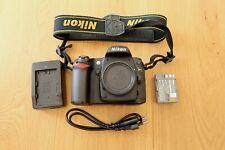 Nikon D80 10.2MP Digitalkamera - Schwarz (Nur Gehäuse)