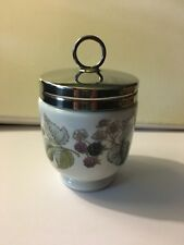 Royal Worcester Porcelain Egg Coddler - Blackberry