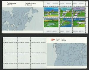 Canada #BK86 MNH Booklet CV$12.00 1983 Forts Halifax Beausejour [983-992]