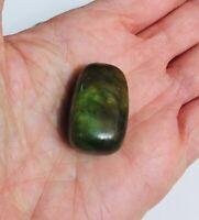 Nephrite Jade Tumblestone with organza bag