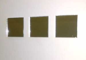 Square Mirror Acrylic Tile Lots of Sizes. Shatterproof Material