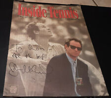 """JOHN McENROE - """"Inside Tennis"""" Magazine (December 1997-January 1998) - SIGNED"""