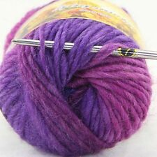 LOT of 1 Skeins x 50g NEW Chunky Hand-woven Colors Knitting Scores wool yarn A
