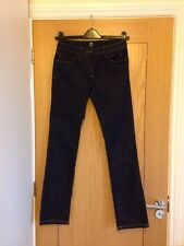 "HENRI LLOYD Angelina Super Slim Fit Dark Blue Jeans Size 1R  XS W:29 L:32"" NEW"