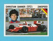 MOTOR RACING - PANINI - SUPERSPORT STICKER NO. 43 -  CHRISTIAN  DANNER  - 1987