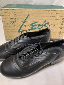 Alexander Concerto Leo's Dance Shoes Tap Circa 2008 Adult Black Size 8 M Display