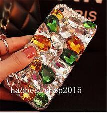 3D Hard Case Cover Handmade Luxury Bling Jewelled Rhinestone Diamond Crystal A