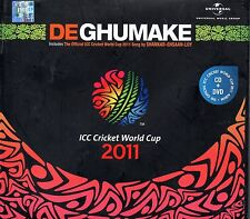 DE GHUMAKE ICC CRICKET WORLD CUP 2011 Indian CD/DVD Shankar Ehsaan Loy Rihanna
