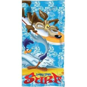 Looney Tunes towel Beach Swimming Holiday Wile E. Coyote and the Road Runner