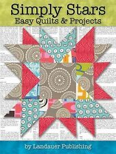 SIMPLY STARS EASY QUILTS & PROJECTS -   Retail $16.95