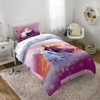 Disney's Frozen 2 Kids Twin/Full Reversible Comforter and Sham Set, NEW