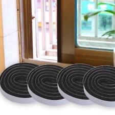 Hot!! Self-adhesive Dust Draught Excluder Brush Strip Window Door Seal Tape FW