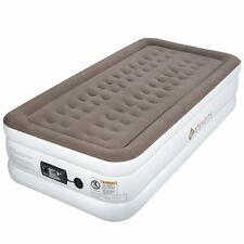 Etekcity Air Mattress Bed Inflatable Airbed Built-in Electric Pump 18'' Twin