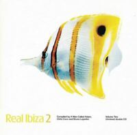 REAL IBIZA 2 various artists (2X CD compilation, 1999, react) downtempo, ambient