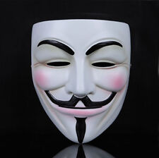 Vendetta Mask Guy Fawkes Anonymous Halloween Party Fancy Dress Costumes