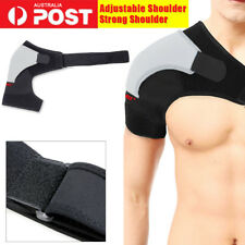 Shoulder Support Brace Adjustable Compression Strap Bandage Wrap Full Protection