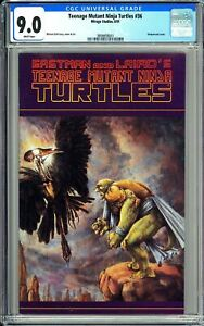 Teenage Mutant Ninja Turtles #36 CGC 9.0 WP 1991 3858658001 Mirage