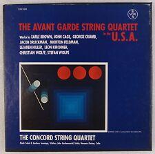 AVANT GARDE STRING QUARTET: John Cage, George Crumb USA Box Vox LP NM- Concord