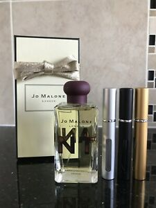 JO MALONE AMBER & PATCHOULI  COLOGNE INTENSE IN  NEW 5ML ATOMISER