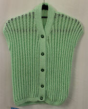 Womens Ladies 1950's Light Green cap sleeve Cardigan Rockabilly  Rock & Roll
