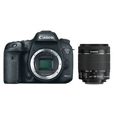 Canon EOS 7D Mark II Digital SLR Camera + 18-55mm EF-S f/3.5-5.6 IS STM Lens