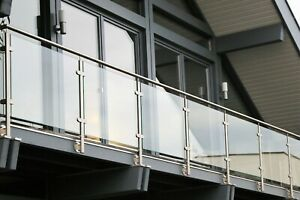 Glass Balustrade Panels 10mm Toughened Glass in Various Sizes and Custom Sizes