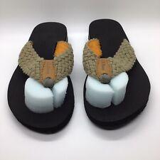 LL Bean Sandals Flip Flop Women Sz 6 Peat Moss NWT Summer Beach