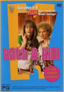Kath and Kim Complete Season 1 (DVD) Series One First - AUSTRALIAN REGION 4