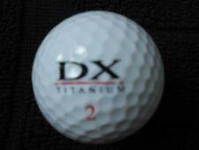 """40 MACGREGOR """"DX TITANIUM""""  Golf Balls - """"PEARL/A"""" Grades."""
