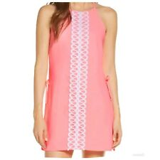 Women's Lilly Pulitzer Pearl Romper Neon Pink Size 2 new with tags