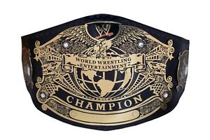 SD WWE World Wrestling Entertainment Champion Title Belt Replica Adult 2MM Brass