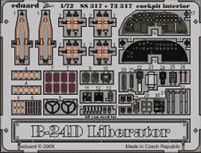 Eduard Zoom SS317 1/72 consolidado B-24D Liberator Hasegawa