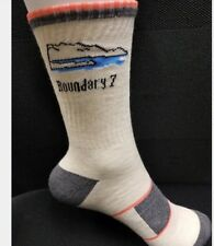 Boundary 7- 3 pack Bamboo hiking sock - Crew - Moisture wicking - Anti bacterial