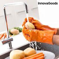 Reinigungs- & Schälhandschuhe für Obst Gemüse Kartoffeln Möhren Putz Handschuh