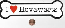 S505 pet animal Dog breed Bone Magnet: I Heart love Hovawart collect