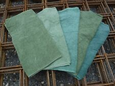 5x British Army Issue 100% Cotton Hand Towel Job Lot Olive Drab Camping Dog