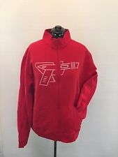 NEW American Apparel Zip Hoodie, Red, Size 2XL