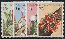 Papua Neuguinea 1986 Blumen, Orchideen 531/34 postfrisch