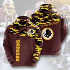 Washington Redskins Football Hoodies Sweatshirt Men's Causal Pullover New design