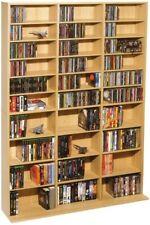 Multimedia Storage  00004000 Cabinet Tower Dvd Cd Rack Shelf Organizer Media Stand Book