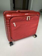 RIMOWA Salsa Deluxe Hybrid Multiwheel Pilot Cabin Trolley TSA lock orient red XL