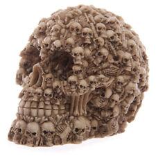 Totenköpfe Design Totenkopf-Figur Gothic Skull Dekoration Halloween