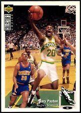 Gary Payton #220 Collector's Choice 1994-5 Tarjeta de baloncesto cubierta superior (C502)