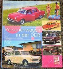PERSONENWAGEN IN DER DDR MOTORBUCH VERLAG ACHIM GAIER NEU