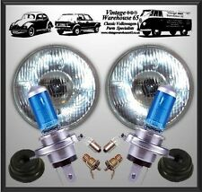 "Rover P4 P5 A60 Xenon Upgrade 7"" Domed Halogen Conversion Headlight Kit"