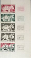 DAHOMEY 1966 267 212 PROOFS Kathedralen Cathedrals Religion Architecture MNH